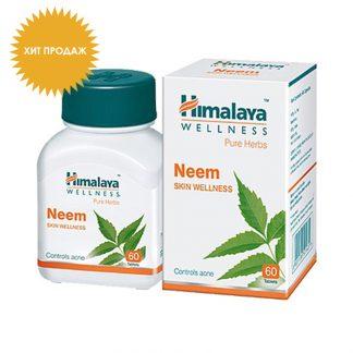 Ним, очищения кожи и крови, 60 таблеток, Neem, Himalaya Herbals
