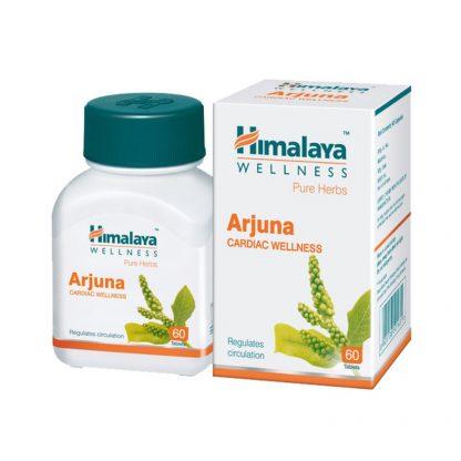 Арджуна, кардиологический препарат, 60 капсул, Arjuna, Himalaya, Индия