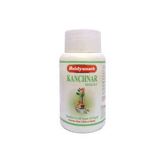 Канчнар Гуггул, лимфатическая, эндокринная системы, 80 таблеток, Kanchnar guggul, Baidyanath