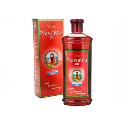 Аюрведическое масло для волос и массажа Навратна, 50мл / 100мл / 200мл , Navratna oil, Himani, Индия
