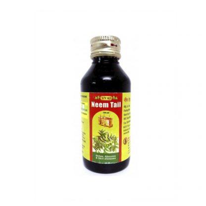 Масло Ним, 60 мл, от кожных заболеваний, Neem Tail (Oil), Vyas, Индия