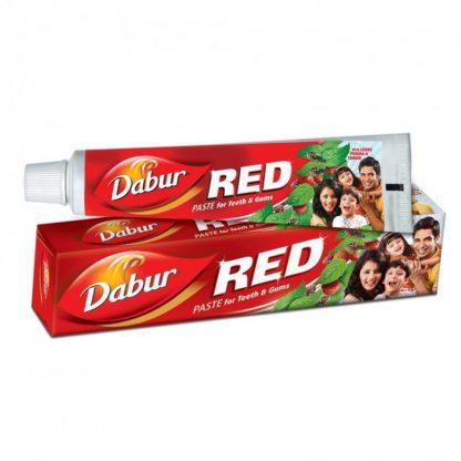 Зубная паста Рэд Red toothpaste, Dabur, Индия, 100гр