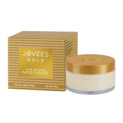 Увлажняющий крем с 24 карата золотом Джовис, 50 г, Jovees 24 Carat Gold Moisturiser! Срок годности 10.2020
