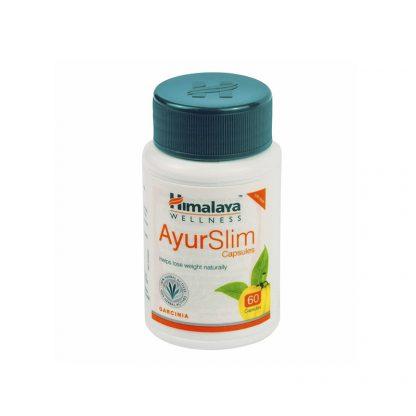 Аюрслим, 60 капсул, для похудения, Ayurslim, Himalaya, Индия