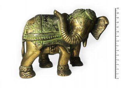 Слон большой с поворотом головы h15*12 см