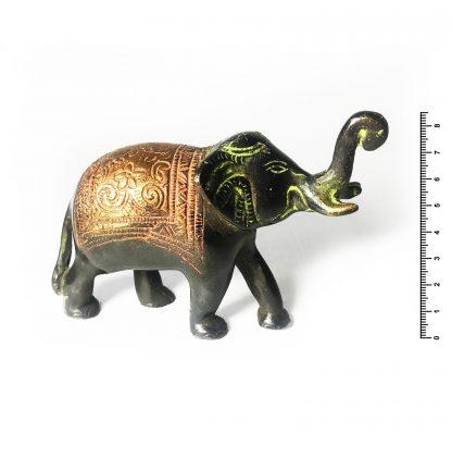 Слон хобот вверх h 8,5*12,5 см