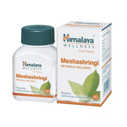 Мешашринги, для понижения сахара, улучшение метаболизма, 60 таблеток, Meshashringi, Himalaya, Индия