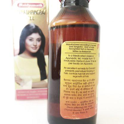 Масло для волос Махабрингарадж, 100мл, Mahabhringraj Tel, Baidyanath