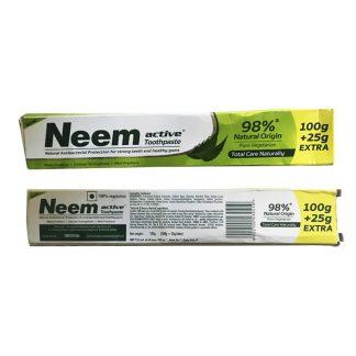 Аюрведическая зубная паста Ним,Neem toothpaste, Jyothy Laboratories ltd , Индия 125 г