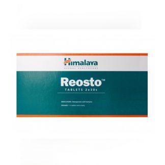 Реосто, для восстановления и укрепления костей, 60 таб., Reosto, Himalaya, Индия !!! Срок годности 10.21 !!!