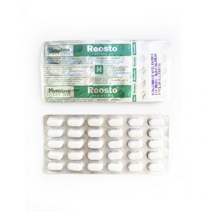 Реосто, для восстановления и укрепления костей, 60 таб., Reosto, Himalaya, Индия