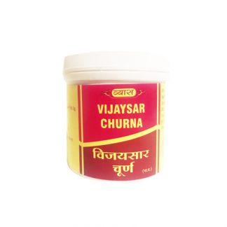 Виджайсар Чурна от сахарного диабета, 100г, Vijaysar Churna, Vyas