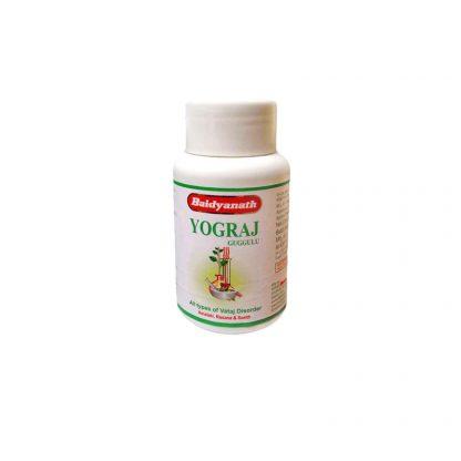 Йоградж Гуггул, для опорно-двигательной/костно-мышечной системы, 120 таблеток,Yograj Guggulu, Baidyanath