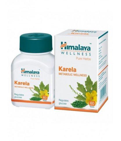 Карела, улучшение метаболизма, поддержание уровня сахара, 60 таблеток, Karela, Himalaya, Индия