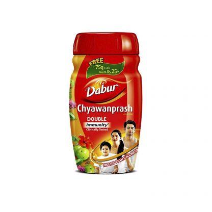 Chyawanprash double immunity, 575g, Dabur, Чаванпраш, Дабур, Индия