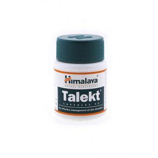 Талект, заболевания кожи и дерматит, 60 капсул, Talekt, Himalaya, Индия