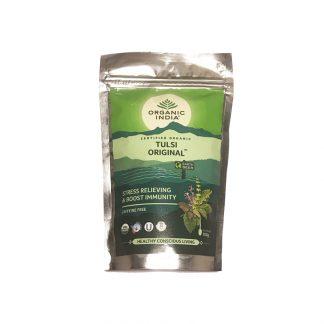 Чай Тулси Ориджинал, 100 г, Органик Индия, Tulsi Original tea, Organic India