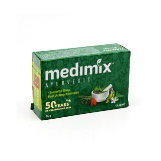 Аюрведическое мыло Медимикс 18 трав, 75 г,Soap Medimix 18 herbs, Индия