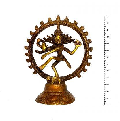 Шива Натараджа h13*11 см (bronze)