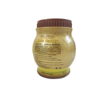 Amla candy, сушеная амла в цукатах, натуральное фруктовое лакомство, 500 г, Patanjali