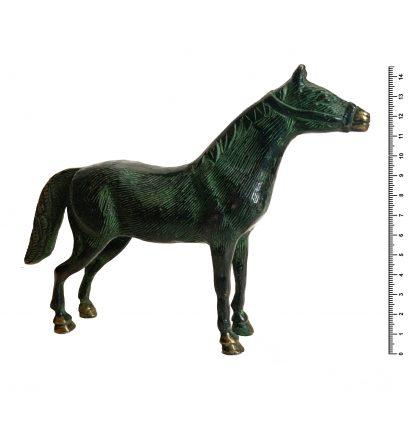 Лошадь H145*L185 мм, бронза