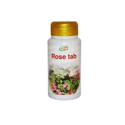 Таблетки Роза, 120 таб, Rose tab, Shri Ganga, Индия