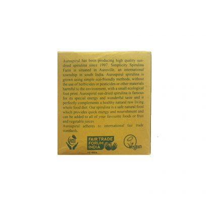 Спирулина, в таблетках, 100шт, Spirulina, Aurospirul, Индия