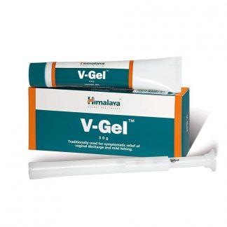 Вагинальный гель V -gel, Ви-гель, 30 г, Himalaya
