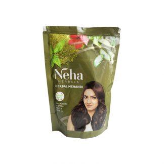 Хна для волос натуральная Неха, 140г, Neha, Herbal Henna, Индия СРОК ГОДНОСТИ 01.2021