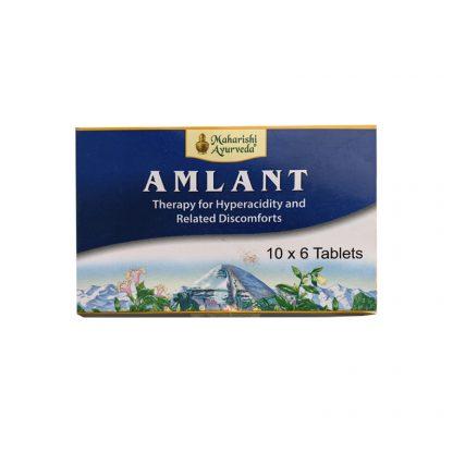Амлант, при язве желудка и двенадцатиперстной кишки,повышенной кислотности, 60таб, Amlant, Maharishi Ayurveda