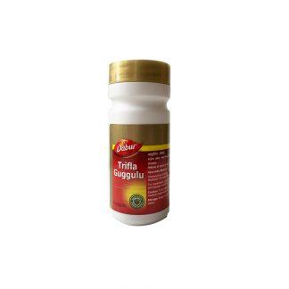 Трифла (Трифала) Гуггулу, безопасное очищение организма, 40таб. / 80 таб., Trifla (triphala) guggulu Dabur