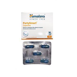 Пати Смарт — растительное средство от похмелья, 5капсул,  Party Smart, Himalaya