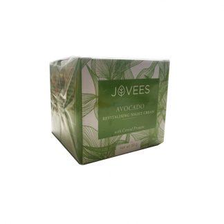 Восстанавливающий ночной крем с авокадо Джовис, 50 гр., Revitalising Night Cream Avocado , Jovees, Индия