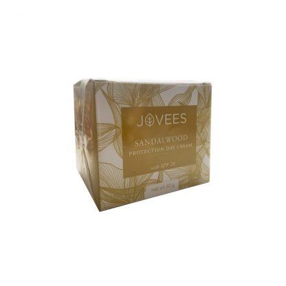 Дневной крем с сандалом с SPF 20, 50 гр., Jovees Sandalwood Protection Day Cream, Jovees, Индия  !!! Срок годности 07.21 !!!