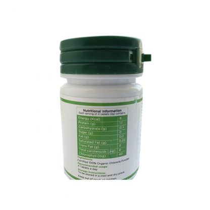 Хлорелла, детокс и здоровье печени, 60 таб, Organic Chlorella Detox Superfood, Parry Wellness