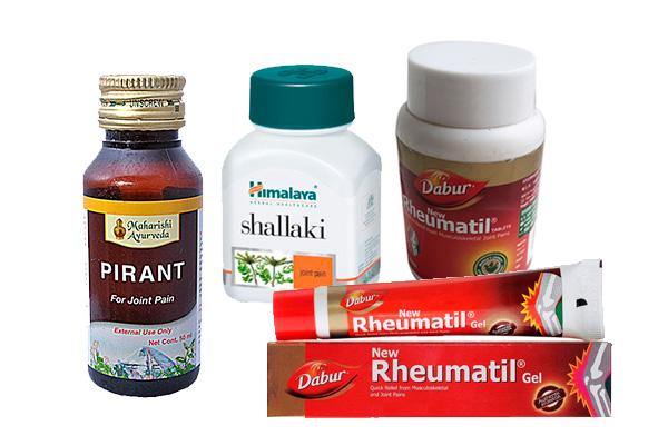 Аюрведа при артрите ,боли в суставах, ревматизм, растяжение, травмы - индийские средства с натуральным составом.