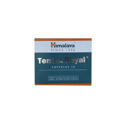 Тентекс Роял, для потенции 10 капсул, Tentex Royal, Himalaya