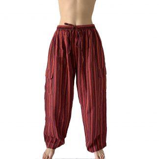 Индийские штаны, на резинке, единый размер