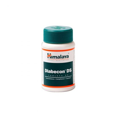 Диабекон ДС, при сахарном дабете, 60 таблеток, Diabecon DS, Himalaya, Индия
