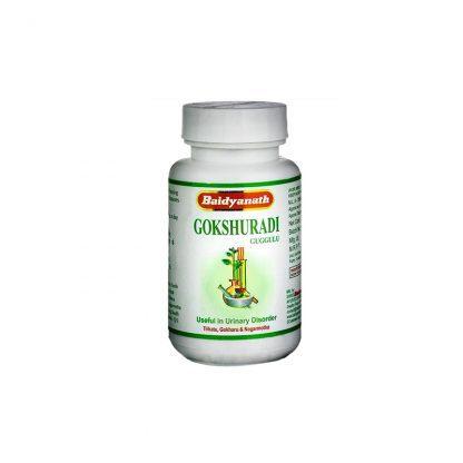 Гокшуради Гуггул , мочеполовая система, 80 таблеток, Gokshuradi guggulu, Baidyanath