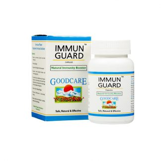 Иммун Гуард, для иммунитета, 60 кап, Immun Guard Natural immunity Booster, Baidyanath Goodcare