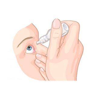 Капли для глаз, зрение