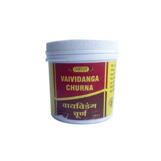 Вайвиданга чурна, антипаразитарное,кожные заболевания, проблемы жкт, 100 г, Vaividanga churna, Vyas
